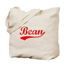 Vintage Bean (Red) Tote Bag