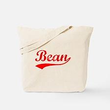 Vintage Bean (Red) Tote Bag
