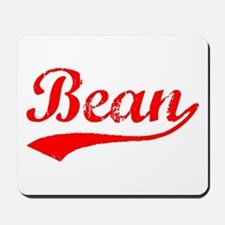 Vintage Bean (Red) Mousepad