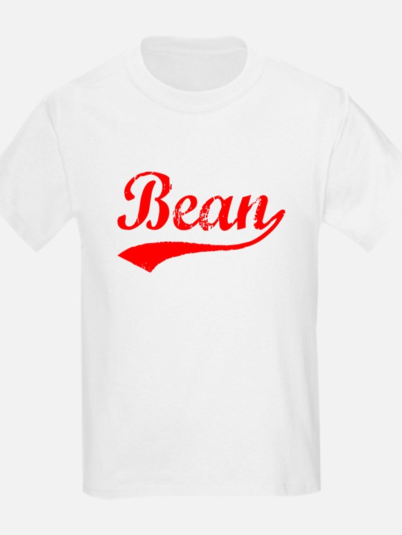 Vintage Bean (Red) T-Shirt