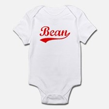 Vintage Bean (Red) Infant Bodysuit