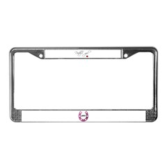 Daddy's girl LUCKY License Plate Frame