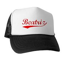 Vintage Beatriz (Red) Trucker Hat