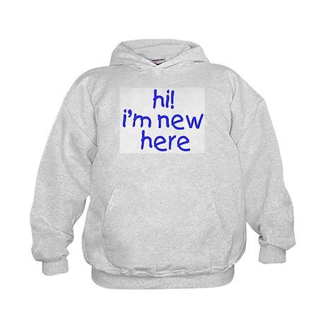 im new here-boy Kids Hoodie