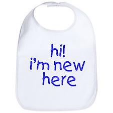 im new here-boy Bib