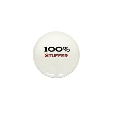 100 Percent Stuffer Mini Button (10 pack)