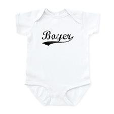 Vintage Boyer (Black) Infant Bodysuit
