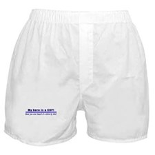 Drive By Fire COP Gift Boxer Shorts