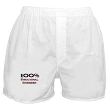 100 Percent Structural Engineer Boxer Shorts