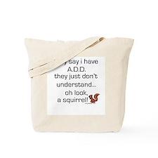 ADD Squirrel Tote Bag