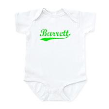 Vintage Barrett (Green) Infant Bodysuit