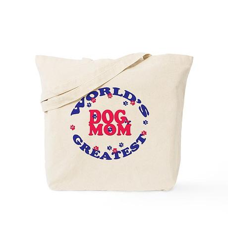 Dog Mom Tote Bag - Red