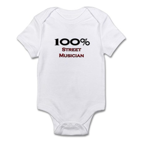 100 Percent Street Musician Infant Bodysuit