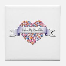 Love My Decathlete Tile Coaster