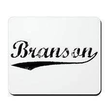 Vintage Branson (Black) Mousepad
