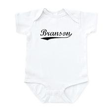 Vintage Branson (Black) Infant Bodysuit