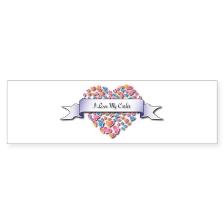 Love My Curler Bumper Sticker