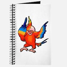 Flipping Bird Parrot Journal