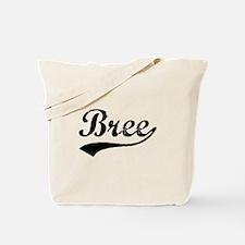 Vintage Bree (Black) Tote Bag