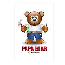 Handy Dad Bear Postcards (Package of 8)
