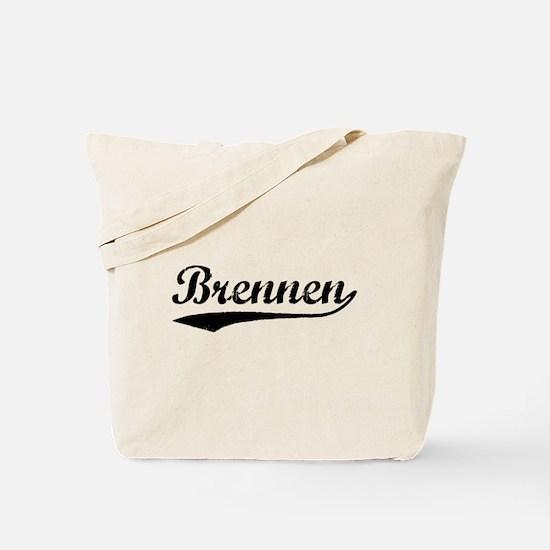 Vintage Brennen (Black) Tote Bag