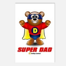 Super Dad Bear Postcards (Package of 8)