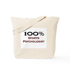 100 Percent Sports Psychologist Tote Bag