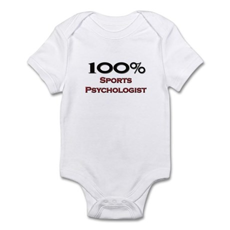 100 Percent Sports Psychologist Infant Bodysuit