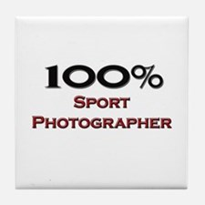 100 Percent Sport Photographer Tile Coaster
