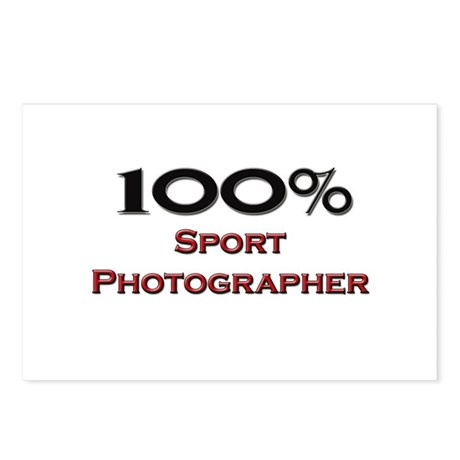 100 Percent Sport Photographer Postcards (Package