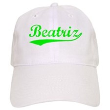 Vintage Beatriz (Green) Baseball Cap