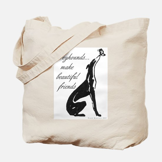 Greyhound Tote Bag/Butterfly