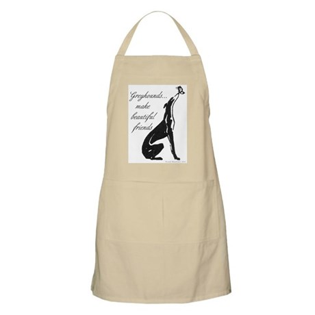 Greyhound BBQ Apron/Butterfly