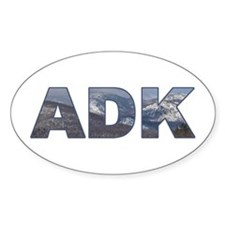 Adirondack ADK Oval Decal
