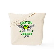 Everyone loves a jamaican girl Tote Bag