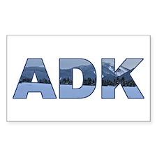 ADK Adirondack Rectangle Decal