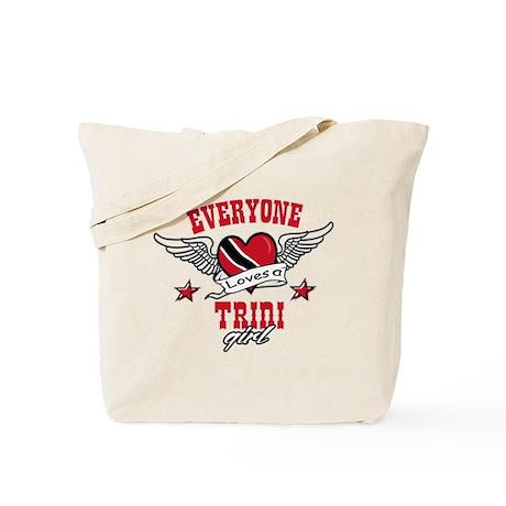 Everyone loves a Trini Girl Tote Bag