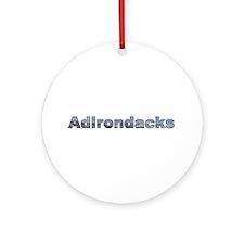 Adirondacks Ornament (Round)