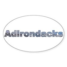 Adirondacks Oval Decal