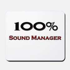 100 Percent Sound Manager Mousepad