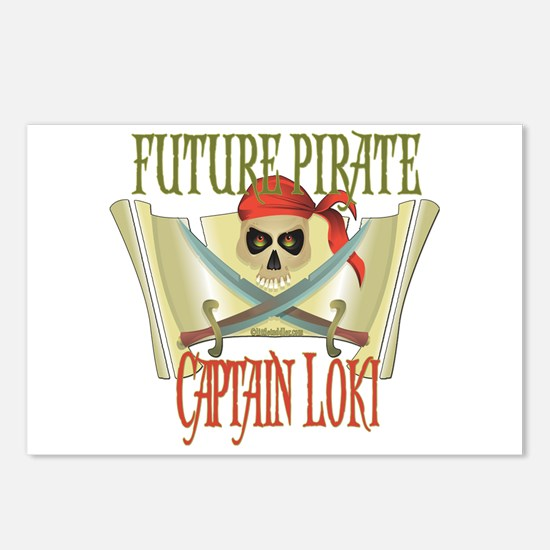 Captain Loki Postcards (Package of 8)