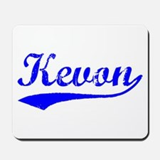 Vintage Kevon (Blue) Mousepad