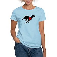 Greyhound T-Shirt/Heart Hound