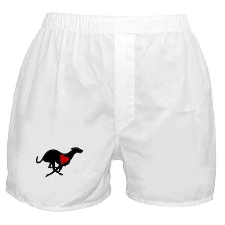Greyhound Boxer Shorts/Heart Hound