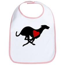 Greyhound Bib/Heart Hound
