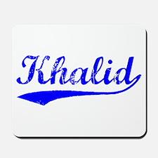 Vintage Khalid (Blue) Mousepad