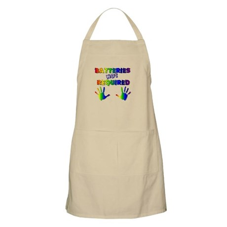 Batteries NOT Required BBQ Apron
