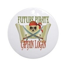 Captain Logan Ornament (Round)