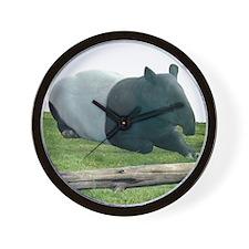 Helaine's Tapir Wall Clock