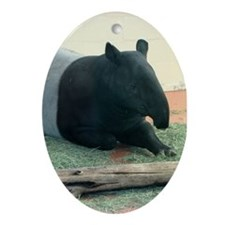 Helaine's Tapir Ornament (Oval)
